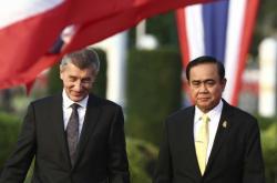 Andrej Babiš a Prajutch Čan-Oča