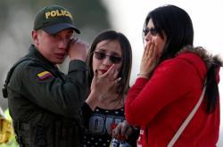 Reakce na útok v Bogotě v areálu policejní akademie