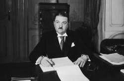Generál Alois Eliáš ve funkci předsedy vlády