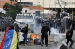 Protesty proti prezidentovi Madurovi