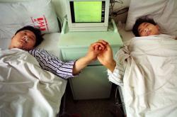 Dárce a příjemce transplantované ledviny