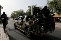 Armáda v nigerijských ulicích před sobotními volbami