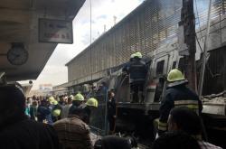 V Káhiře zahynulo nejméně patnáct lidí při požáru nádraží