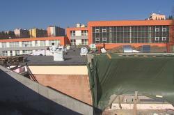 Staveniště Centra polytechnické výchovy v Boskovicích
