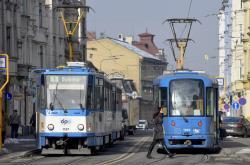 Nádražní ulice v Ostravě