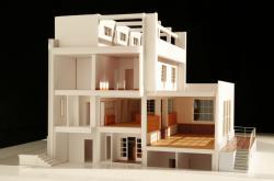 Výstava modelů staveb Adola Loose