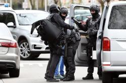 Policisté po střelbě v Utrechtu