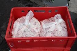 Veterináři v Sapě našli auto s 210 kilogramy nechlazených vepřových vnitřností