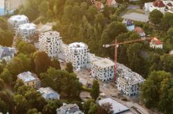 Výstavba rezidenčního parku Masarykova v Liberci