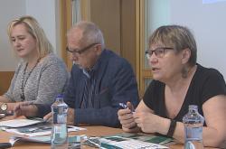 Ombudsmanka Anna Šabatová na tiskové konferenci