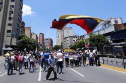 Demonstrace proti vládě Nicoláse Madura