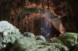 Jeskyně Callao na Luzonu
