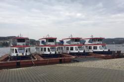 Lodě na Brněnské přehradě