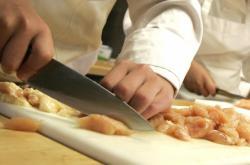 Příprava kuřecího masa