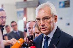 Náměstek ruského ministra zahraničí Alexandr Gruško