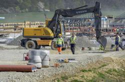 Stavba dálnice D1 mezi Přerovem a Lipníkem nad Bečvou
