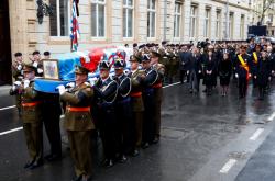 Pohřeb lucemburského velkovévody Jeana