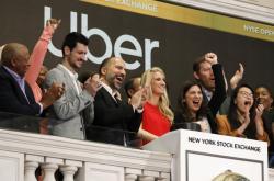 Uber vstoupil na burzu.