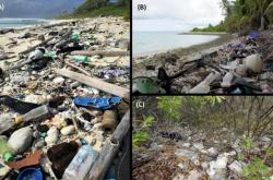 Plastový odpad na ostrovech