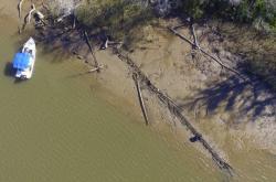 Nalezené zbytky poslední otrokářské lodi