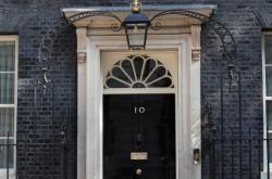 Sídlo britské premiérky Downing Street 10