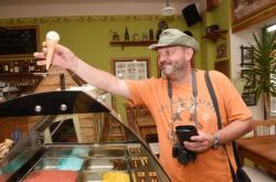 Zmrzlina vyrobená z Olomouckých tvarůžků
