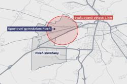 Evakuace v Plzni