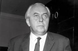 Britský premiér Harold Wilson, 1965