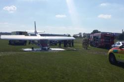 Havárie letadla na letišti v Letňanech (3. června 2019)