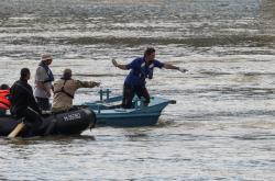 Pátrání po obětech na Dunaji