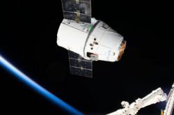Odlet Dragonu od ISS