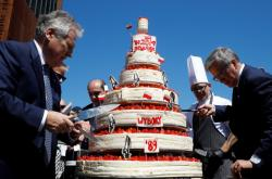 Exprezidenti Komorowski a Kwasniewski na oslavách výročí v Gdaňsku