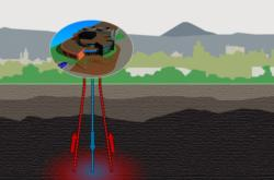 Vizualizace geotermálního vrtu v Litoměřicích