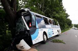 Nehoda autobusu u Střílek