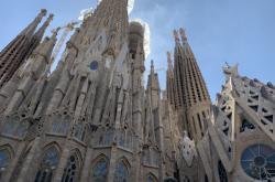 Barcelonská katedrála Sagrada Familia