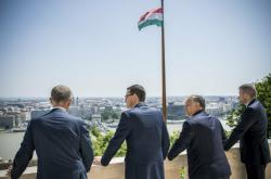 Premiéři zemí V4 v Budapešti