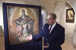 Martin Motyčka u obrazu Trůn Milosti