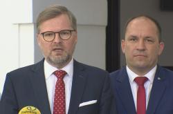 Petr Fiala a Marek Výborný