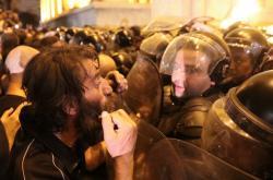 Gruzínci se snaží dostat do parlamentu