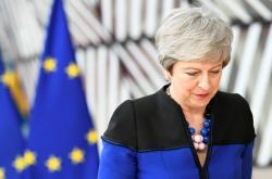 Končící britská premiérka Theresa Mayová na summitu
