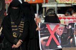 Palestinky protestují proti americkému plánu