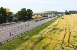 Omezení provozu na dálnici D2