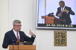 Karel Havlíček na konferenci ekonomických diplomatů