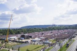 Nedělní demonstrace na Letné