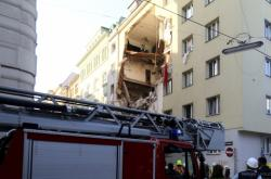 Výbuch domu ve Vídni pravděpodobně způsobil plyn