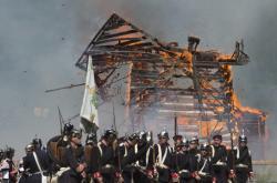 Rekonstrukce bitvy u Hradce Králové