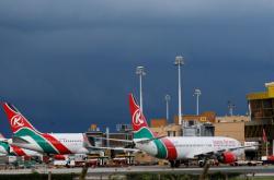 Stroje společnosti Kenya Airways