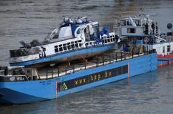 Zničená výletní loď Mořská panna