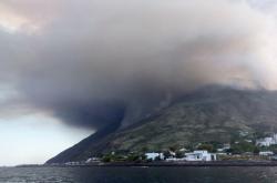 Stromboli den po erupci