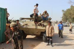 Příslušníci sil libyjské vlády, kterou podporuje OSN